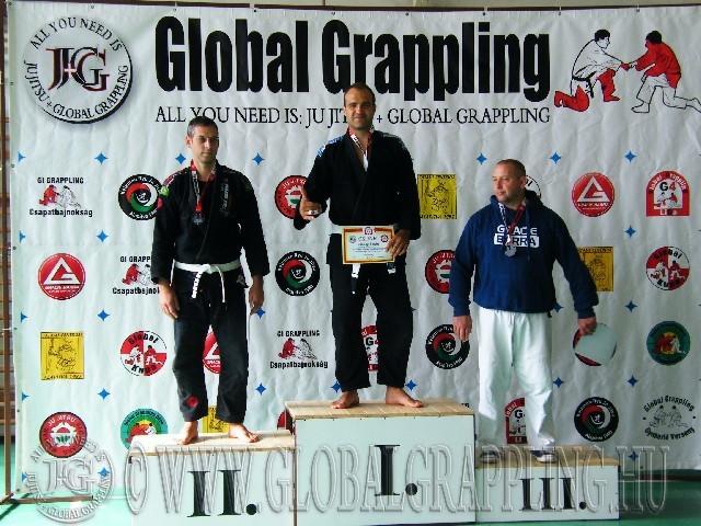 Gi Grappling Senior1 Férfi 105 kg. dobogója
