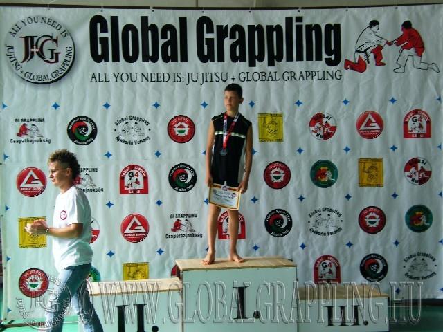 NoGi Grappling Ifjúsági1 Fiú 47 kg. dobogója