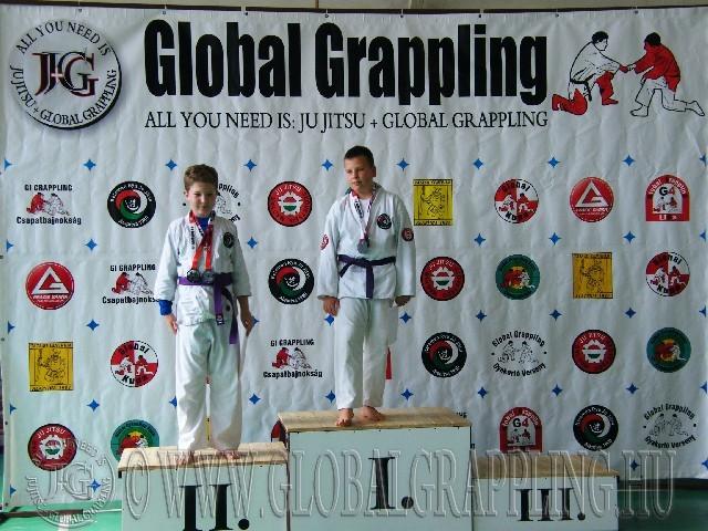 NoGi Grappling Ifjúsági1 Fiú 59 kg. dobogója