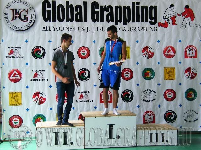 NoGi Grappling Junior Fiú 63 kg. dobogója