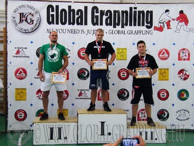 NoGi Grappling Felnőtt Férfi 95 kg. dobogója