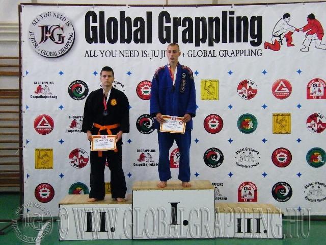 Combat Grappling Junior Fiú 71 kg. dobogója