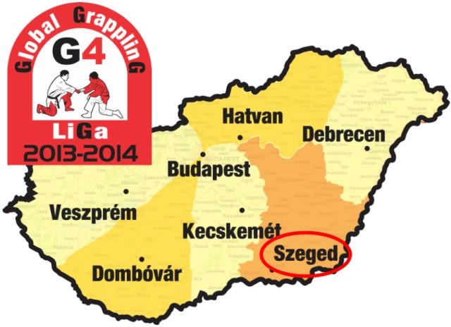A verseny a G4 Grappling Liga 2013-2014 évadának 2. fordulója