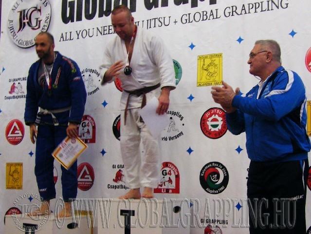 A Gi Grappling Senior Férfi 85 kg. kategória dobogója