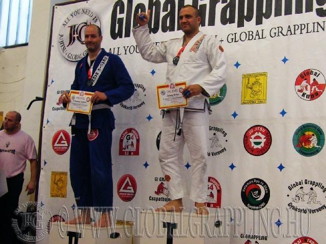 A Gi Grappling Senior Férfi 105 kg. kategória dobogója