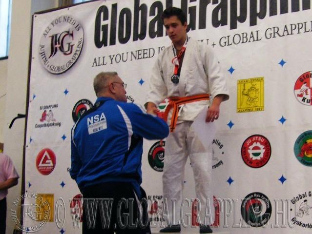 A Gi Grappling Junior Fiú 87 kg. kategória dobogója