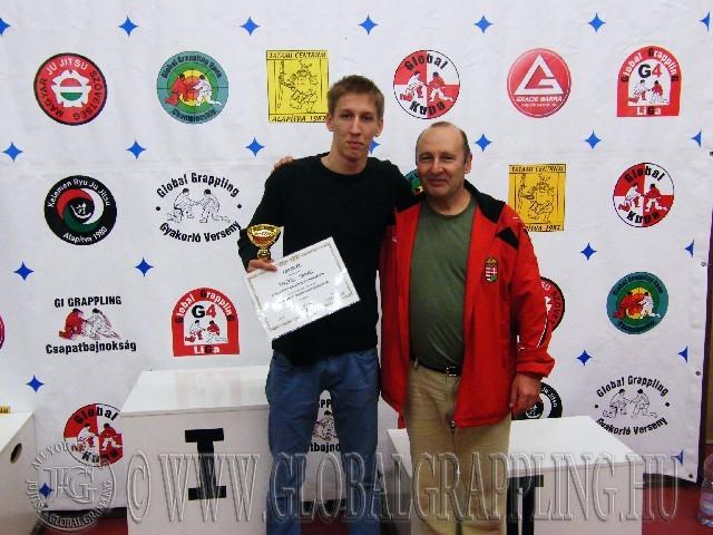 A Legeredményesebb férfi versenyző Rákóczi Tamás, a díjat Nagy Róbert adta át