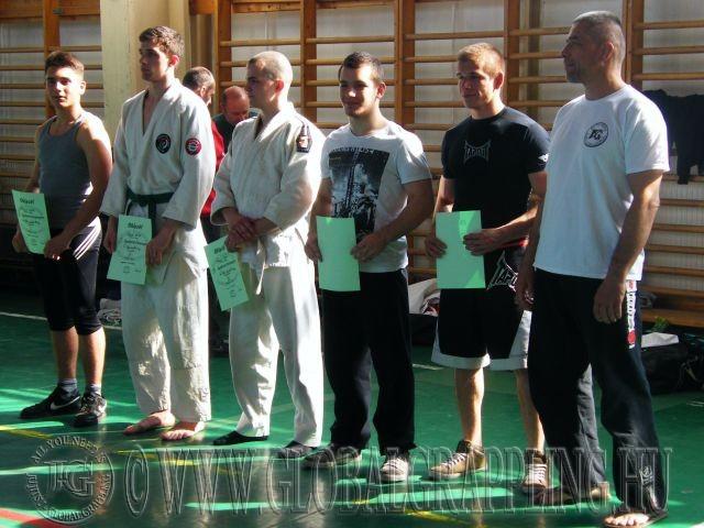 Balról jobbra: Radics Márk, Fekete Attila, Skáfár Bence, Taródi Tamás, Bognár Márk