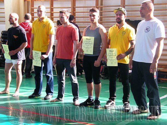 Balról jobbra: Molnár Ádám, Juhász Péter, Fodor Levente, Radics Márk, Szabó Tamás