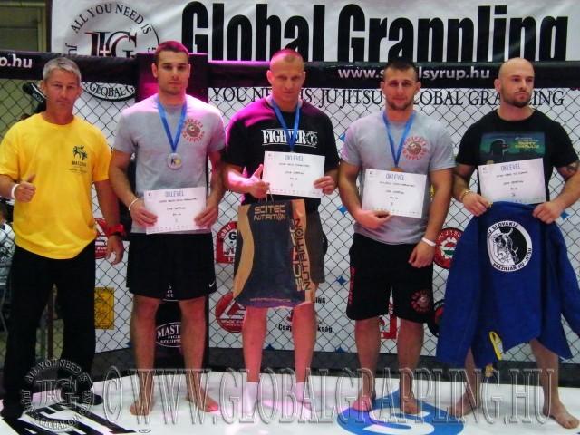 A 84+ kg-os kategória helyezettjei