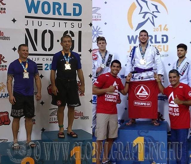 Fekete Sándor a 2013-as NoGi, Szűcs Kristóf a 2014-es Gi Világbajnokságon