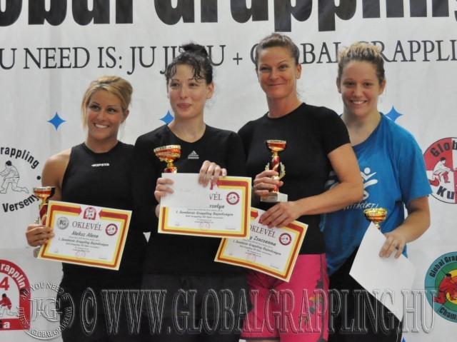Ezen a versenyen volt először NoGi Grappling Női Open