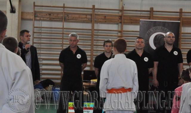 A versenyt megnyitja Lestyán Balázs alpolgármester