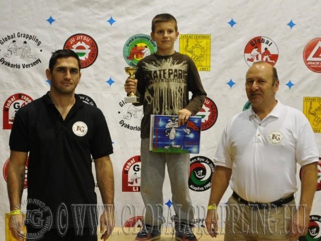 A Legeredményesebb gyermek versenyző Gémes Levente - Szegedi Ju Jitsu Egyesület
