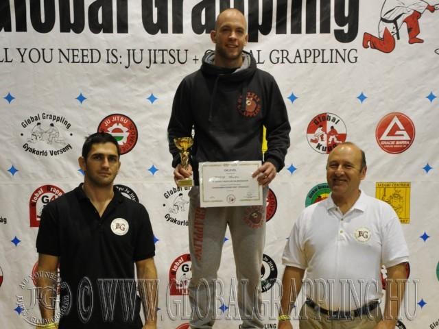 A Legeredményesebb férfi versenyző Fekete Dániel - Grizzly Grappling Team