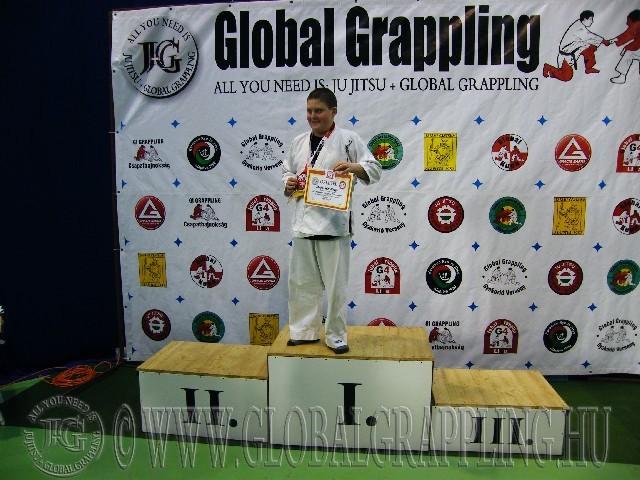 A Gi Grappling Ifjúsági 1 Fiú 75 kg. kategória dobogója