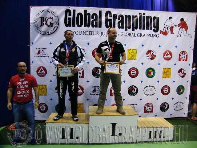 A NoGi Grappling Senior 1 Férfi 95 kg. kategória dobogója