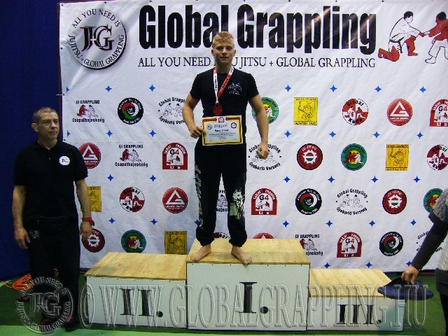 A Kesztyűs Küzdelem Junior Fiú 80 kg. kategória dobogója