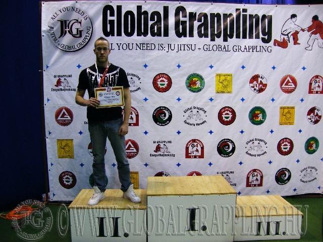 A Kesztyűs Küzdelem Kezdő Férfi 85 kg. kategória dobogója