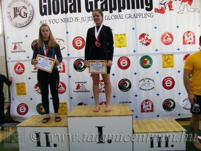 A NoGi Grappling Junior Leány 65 kg dobogója