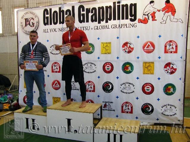 A NoGi Grappling Felnőtt Férfi 105 kg dobogója