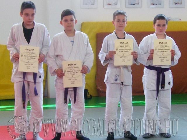 A Gi Fiú Ifjúsági kategória résztvevői