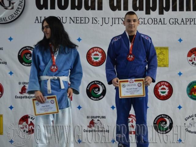 A Gi Junior Fiú 80 kg dobogója