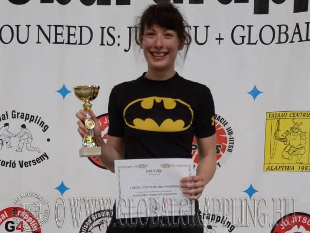 A Legeredményesebb Női versenyző: Németh Orsolya (Gracie Barra BITE)