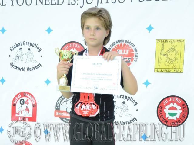 Legeredményesebb gyermek versenyző: Vecsernyés Judit – Patai Gladiator Team