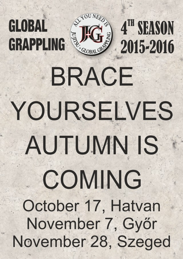 Brace Yourselves Autumn is Coming