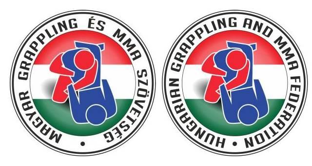 A Magyar Grappling és MMA Szövetség emblémái