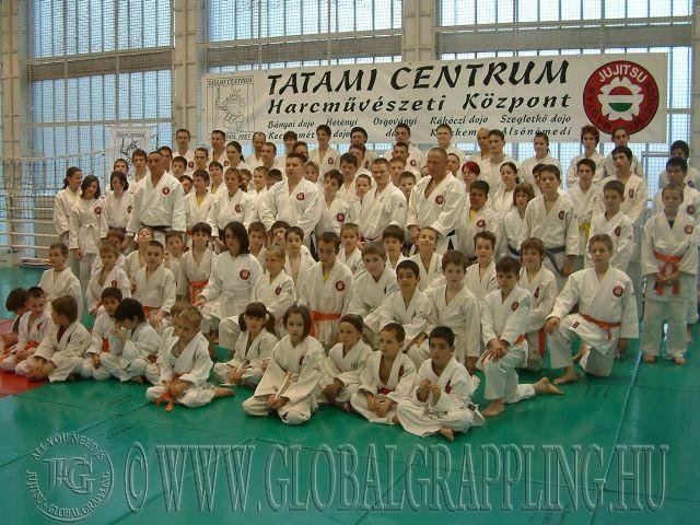 Tatami Centrum csoportkép 2008-ból