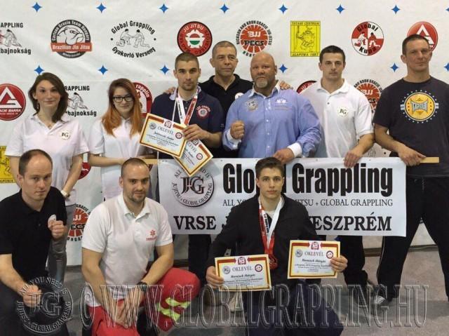 A verseny házigazdája Németh Krisztián és a VRSE Ju Jitsu Szakosztálya