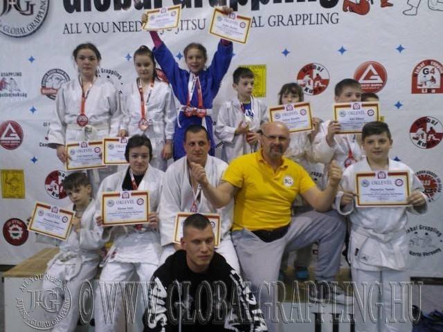 Bugac-Kiskunfélegyházi Judo – Jiu-Jitsu klub tagjai a Bajnokságon