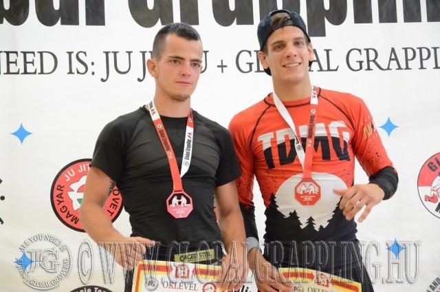 Skáfár Bence és a Legeredményesebb férfi versenyző Lakatos Sándor