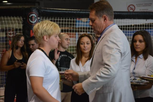 A Gi Grappling Női 70 kg kategória győztese