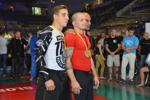 A Gi Grappling Férfi 80 kg kategória győztesei