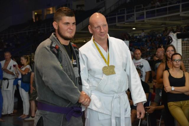 A Gi Grappling Férfi 105 kg kategória győztesei