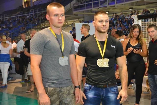A NoGi-Cage Grappling Férfi 75 kg kategória győztesei