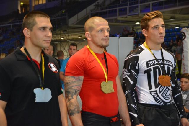 A NoGi-Cage Grappling Férfi 80 kg kategória győztesei