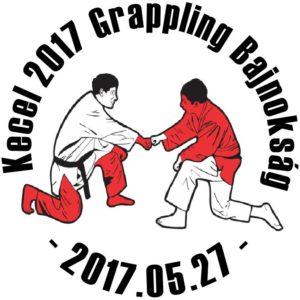 A Kecel 2017 Grappling Bajnokság emblémája