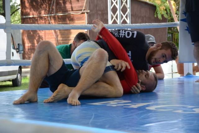 Szűcs Kristóf és Gábor Zoltán NoGi Submission Only Superfight küzdelme