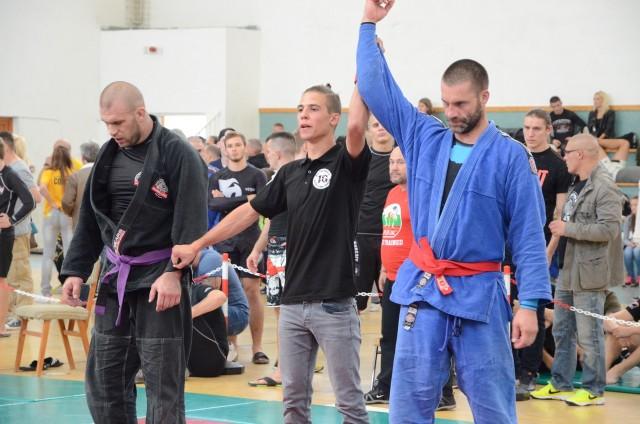 A Gi Open Férfi 80+ kg. döntőjének végeredménye