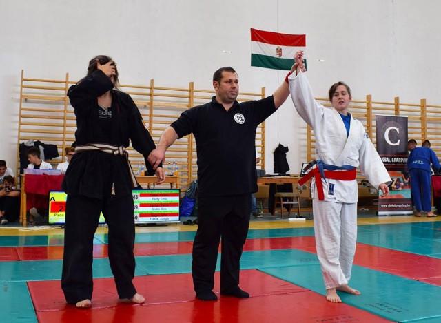 Gi-ben és NoGi-ben is kavilikált a döntőre Székely Méri