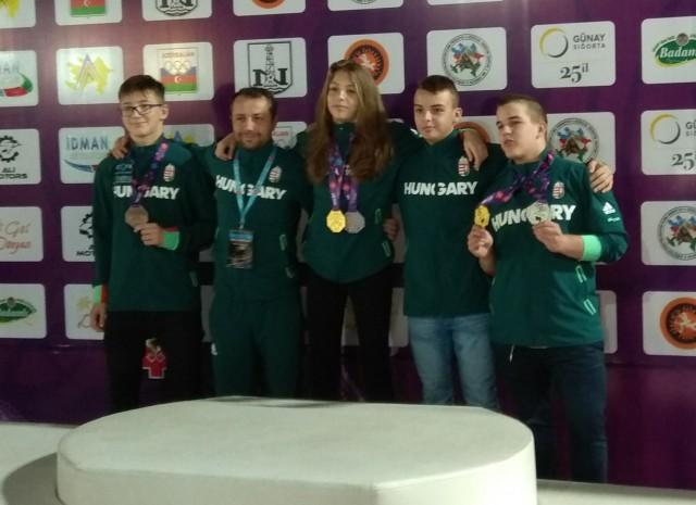 A BJJ Pécs versenyzői öt érmet szereztek