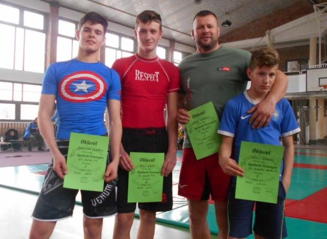 A Szegedi Ju-Jitsu Egyesület csapata