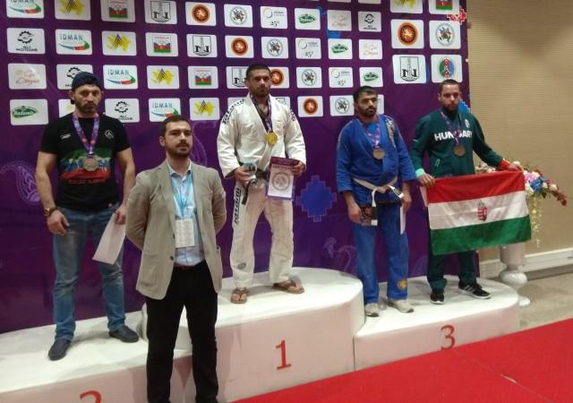 Rohodi Máriusz bronzérmet szerzett