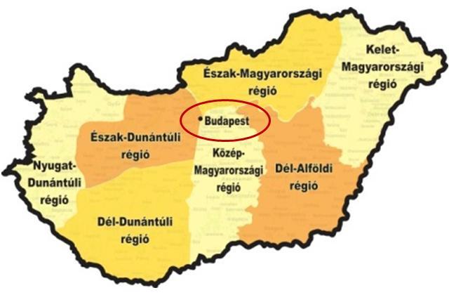 A Budapesti régió versenye
