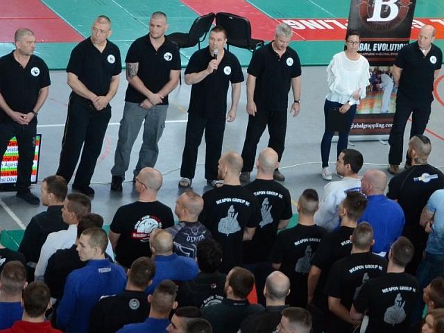 A Magyar Bajnokság megnyitó ünnepségén