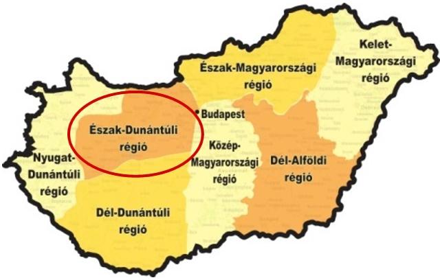 Az Észak-Dunántúli régió versenye